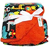VBaby Animal Breathable Double Layer Fur Baby Blanket Coral Fleece Best Registry Gift For Newborn Soft- Perfect For Prince And Princess 96 X 74 Cm