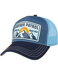 STETSON Mütze Kappe Baumwolle Cambell Cotton Mesh Basecap Caps Herren
