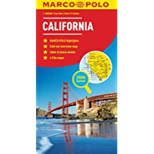 California Marco Polo Map (Marco Polo Maps)