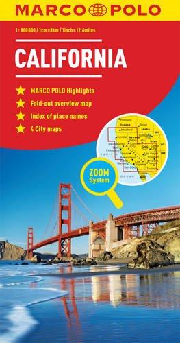 California Marco Polo Map (Marco Polo Maps)