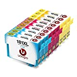 Uoopo Kompatibel Ersatz für Epson 18XL(T1812 T1813 T1814) Tintenpatronen, Multipack Patrone Use for Epson Expression Home XP-412 XP-322 XP-422 XP-225 XP-305 XP-405 XP-212 XP-215 XP-415 XP-425 XP-315 Drucker.(3 Cyan 3 Magenta 3 Gelb)