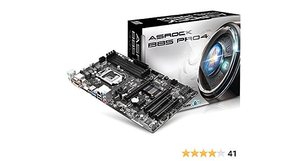 Asrock B85 Pro4 Mainboard Sockel Lga 1150 Computer Zubehör