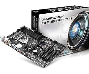ASRock LGA1150/Intel B85/DDR3/Quad CrossFireX/SATA3 and USB 3.0/A&GbE/ATX Motherboard B85 PRO4