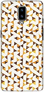 The Racoon Lean printed designer hard back mobile phone case cover for Oneplus 5. (Triangle M)