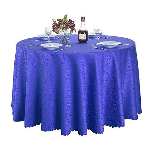 Hôtel / Restaurant / Nappe à domicile Nappes rondes haut de gamme-Bleu