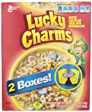 LUCKY CHARMS CEREAL - HUGE 1.3 KG BOX - LARGEST AMERICAN BOX NEW BOX DESIGN …
