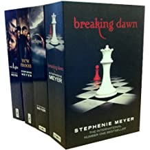 Stephenie Meyer Collection 4 Books Pack Set (breaking down, eclipse, new moon, twilight)