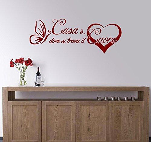 Decorazioni Da Muro.Arredi Murali Adesivi Murali Frase Casa Decorazioni Da Parete Scritte Da Muro Adesive Adesivi Da Parete Amore Per La Casa