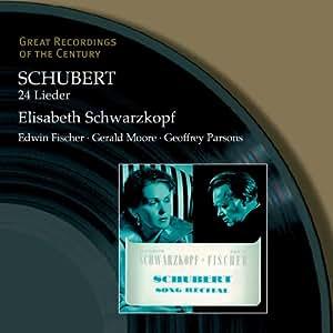 Schubert 24 Lieder