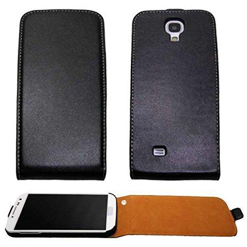 caseroxx Samsung Galaxy S4 i9505 custodia Flip Cover cover copertura in colore nero