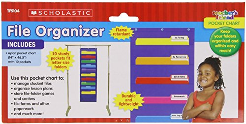 File Organizer Pocket Chart