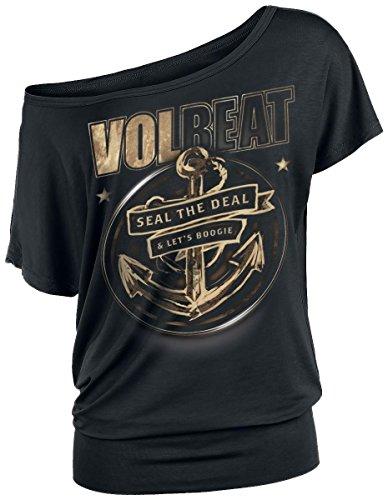Volbeat Anchor Maglia donna nero XL