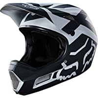 Fox Hombre Rampage Comp Preme MTB fullface Casco, Black/Chrome, L (59