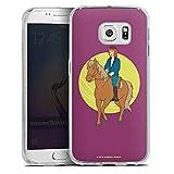 Samsung Galaxy S6 Edge Hülle Silikon Case Schutz Cover Bibi und Tina Fanartikel Merchandise Tina auf Amadeus