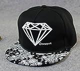 Alralel Kappe Baseball Cap Mütze - viele Farben zur Wahl blackXBMY0629 -