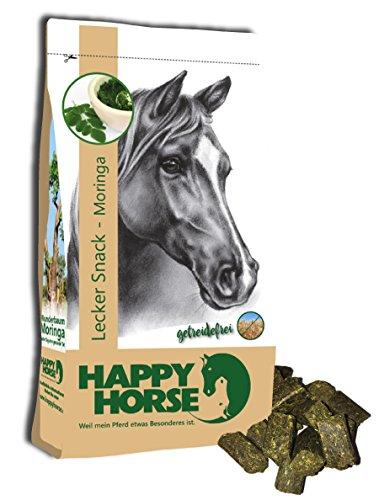 Happy Horse Lecker Snack Moringa - Superfood 1 kg - getreidefrei