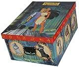 Artra Deko-Karton Bauli Ordnungsboxen Motiv Walt Disney Pocahontas Aufbewahrungsbox für Haushalt Büro Wäsche Geschenkbox Dekokarton Sammelbox Mehrzweckbox Ordnungskarton Ordnungsbox Geschenkekarton