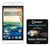 Chevron Aquashieldz Pro 0.33mm Tempered Glass Shatter Proof and Shock Absorbing Screen Protector for Micromax Canvas Doodle 4 Q391 best price on Amazon @ Rs. 125