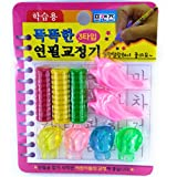 Oytra Pencil Grip 9 Grips for Professionals and School Kids