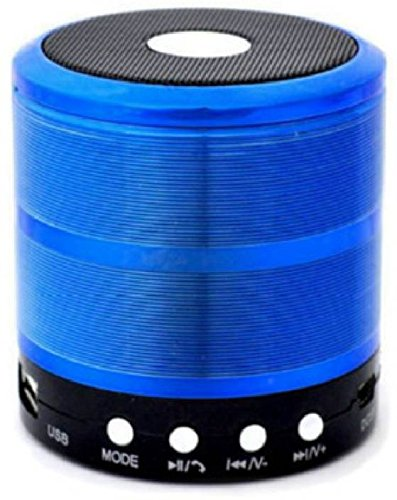 BLUE DIAMOND Wireless Bluetooth Speaker with Smart Touch LED Mood Lamp, SD Card Slot / AUX Input, with Mic