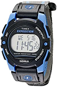 Timex Expedition Unisex-Armbanduhr Timex Expedition  Chrono Alarm Timer Digital Textil T49660