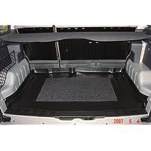 OPPL Bandeja para .mMaletero con antideslizante, apta para Citroen Berlingo Multi Space/5plazas sin Modubox/modelos con puerta trasera y puerta del maletero, 1998-2007, 126 x 86