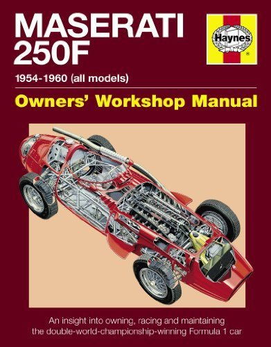 Maserati 250F Manual: 1954-1960 (all models) (Haynes Owners Workshop Manuals) First edition by Wagstaff, Ian (2014) Hardcover