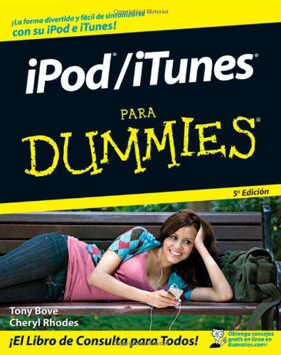 iPod/iTunes Para Dummies