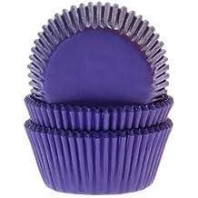 50 Muffinförmchen violett, Papierbackförmchen -50x33mm