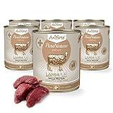 aniforte® purena Ture cibo per cani Agnello Pur 6X 800G–Prodotto naturale per cani
