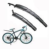 Itian Fahrrad Kotflügel Schutzblech,Einstellbar Reifen vorne&hinten Kotflügel,schutzt vor Schlammspritzer