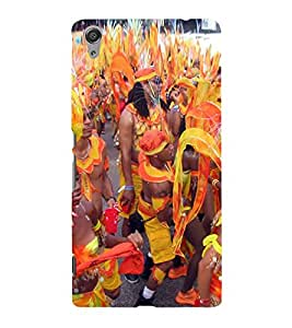 ifasho Designer Back Case Cover for Sony Xperia C6 Ultra Dual (Festival Event Tourism Cultural Music Dancing)