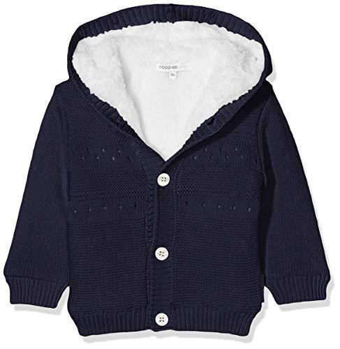 Noppies Baby-Mädchen Strickjacke G Cardigan Knit ls Valentijn Blau (Dark Blue C165), 68