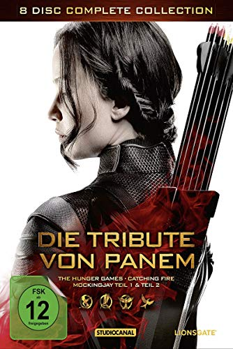 Die Tribute von Panem - Complete Collection [8 DVDs] (Hunger Games Peeta)