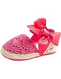 Huhua-Baby Sandal Sandals for Boys, Scarpe Primi Passi Bambine Rosa Hot rosa, Oro (Gold), 19 EU