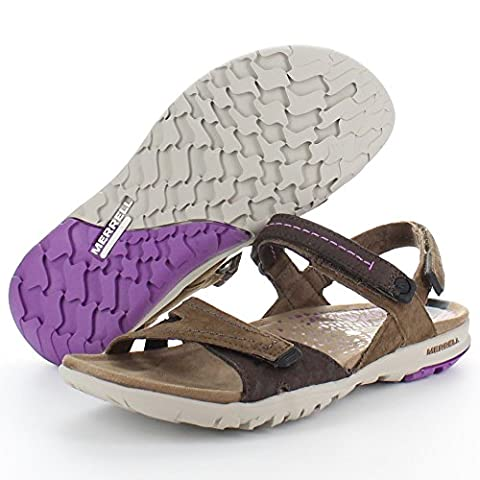Merrell Albany Wrap Womens Sandals Brown