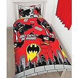 Die besten DC Comics Beddings - Parure de lit LEGO DC Comics Batman housse Bewertungen