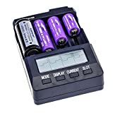 SODIAL(R) Cargador de bateria BT-C3100 4 NiMH