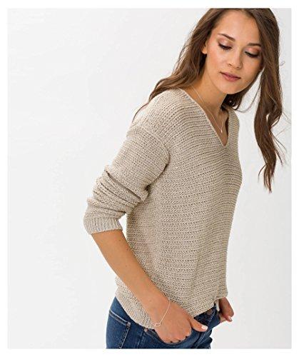 Brax Damen Pullover Sand