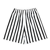Zonary Kinder Strand Stripe Print Running Badeshorts Familie Passende Outfits Schwarz 90-120