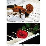 Premium-Kalender-2018–DIN-A4–Klassikzauber–Klassik–Musik–Instrumente–Edition-Seelenzauber