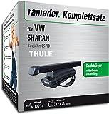 Rameder Komplettsatz, Dachträger SquareBar für VW Sharan (116049-08630-1)