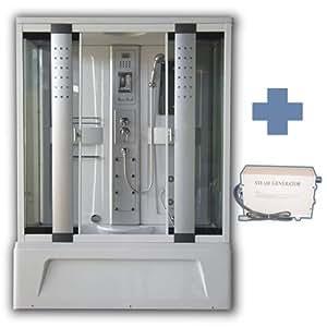 duschkabine mit massaged sen t rkisches dampfbad 150 x 85 cm k che haushalt. Black Bedroom Furniture Sets. Home Design Ideas