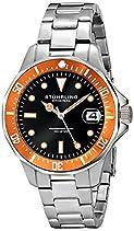 Stuhrling Original Regatta Aquadiver 664 Herren-Armbanduhr Analog Quarz Edelstahl - 664.04