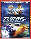 Turbo - Kleine Schnecke, gro�er Traum (3D Vers.) [Blu-ray]