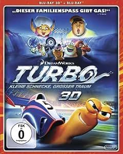 Turbo - Kleine Schnecke, großer Traum  (+ BR) [3D Blu-ray]