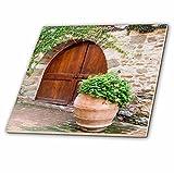 3drose CT _ 208867_ 1Italien, Toskana. Castello D 'albola Kombi in der Chianti-Region. -ceramic Fliesen, 10,2cm