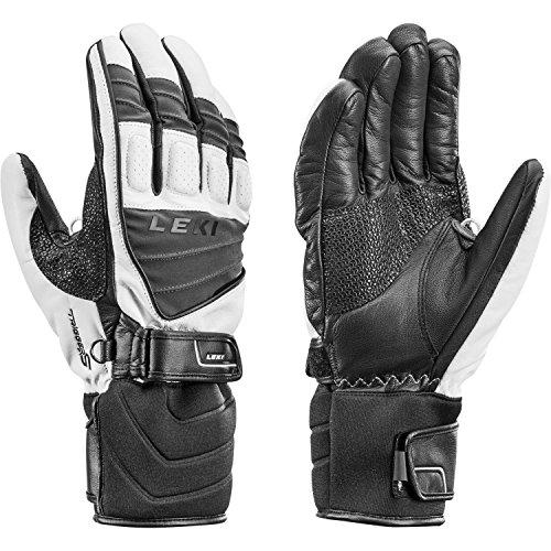 LEKI Herren/Unisex Handschuhe Griffin S schwarz (200) 9,5 (Herren Ski-handschuh Leder)