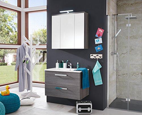 Spiegelschrank Bad Holz von trendteam 75 cm - 5