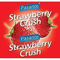Pasante Kondome mit Erdbeergeschmack 144 Stück preisvergleich bei billige-tabletten.eu
